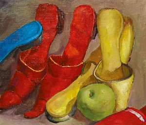 Still-life with Shoes