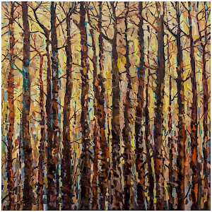 Trees. Yellow Forest