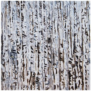 Birches White II